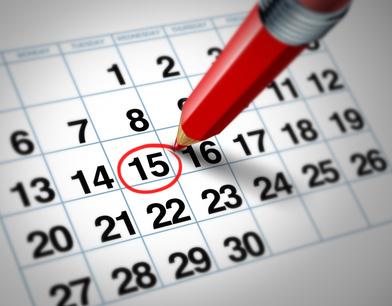 Calendario del contribuyente 2016