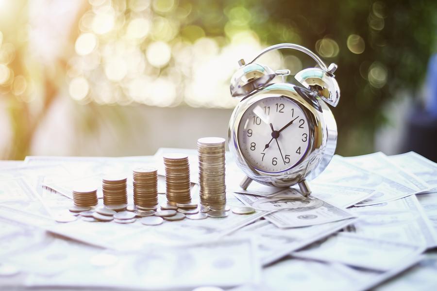 pagos en efectivo de los préstamos