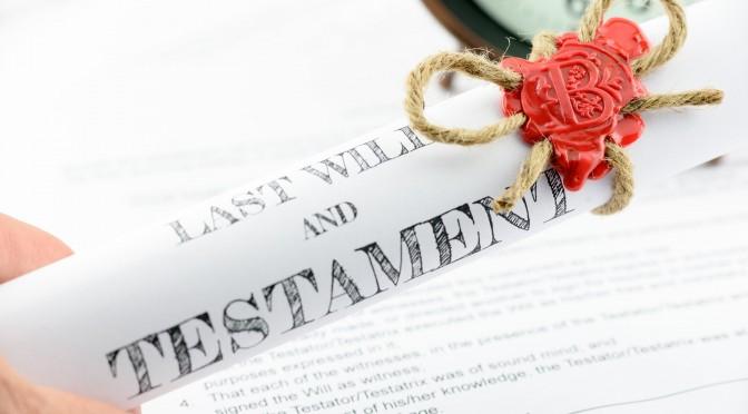 razones para hacer testamento